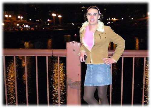 Crossdressing in Downtown Chicago